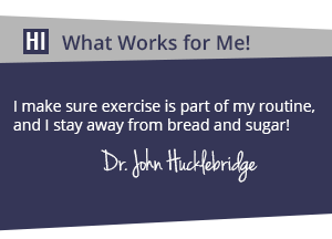Dr Hucklebridge - What works for me